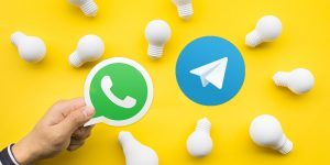 Lo smart working via Whatsapp e Telegram